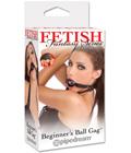 Fetish Fantasy Beginner's Ball Gag - Black