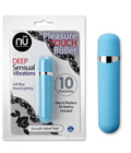 NU Pleasure Touch Bullet - Blue